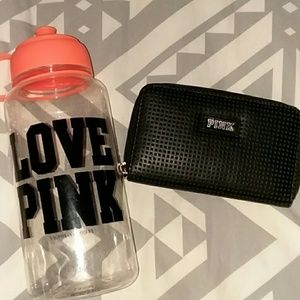 VS Water Bottle & Wallet
